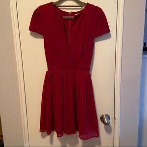 Tobi Red Dress Small